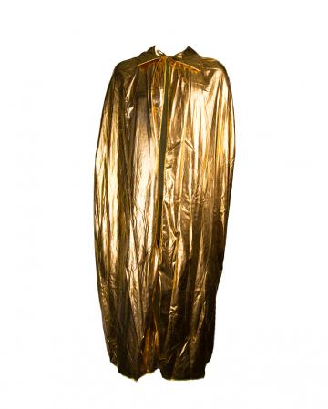 Edler Metallic Umhang in Gold
