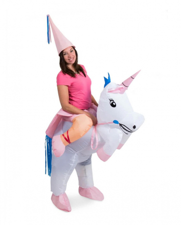 Unicorn Carry Me costume inflatable