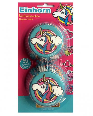 Unicorn Muffin Shape 50 Pcs
