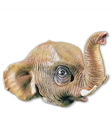 Elephant Mask Made Of Latex