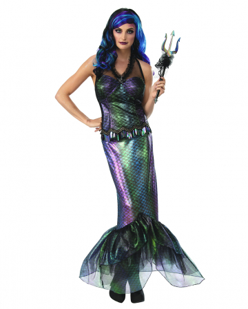 Königin der Dunklen Weltmeere Nixen Kostüm