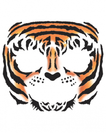 Face Tattoo Tiger