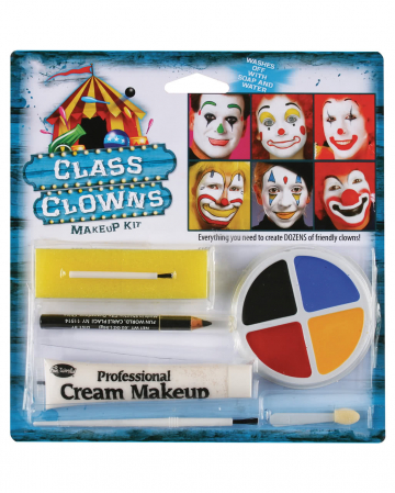 Family Clown Make Up Set