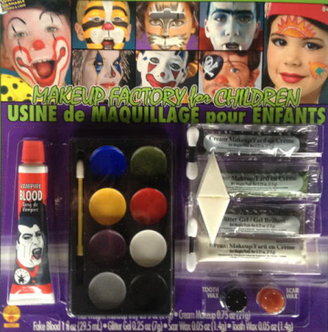 Halloween Kinder Make up Set