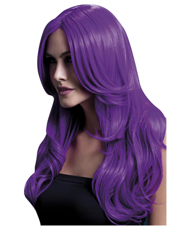 Damen Perücke Khloe violett