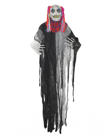 Fieser Totenkopf Clown Hängefigur