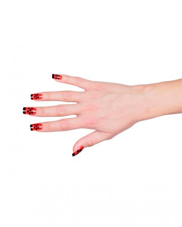 Fingernails Set - Ladybug