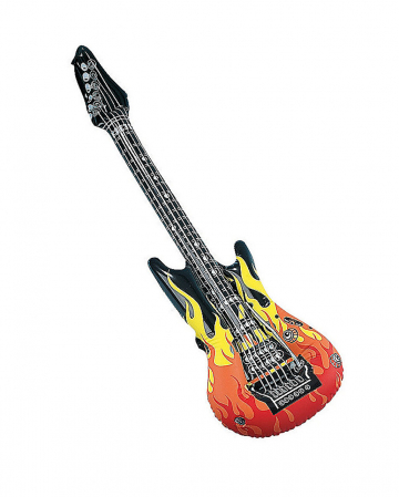 Flame Guitar Inflatable