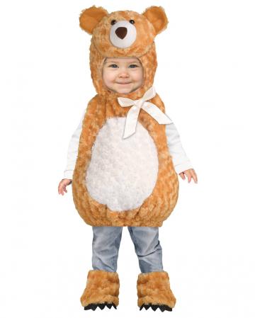 Fluffy Teddy Bear Baby Costume