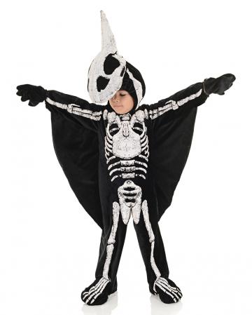 Flugsaurier Skelett Kleinkinderkostüm
