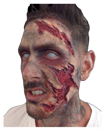 Trauma Face Foam Latex Application