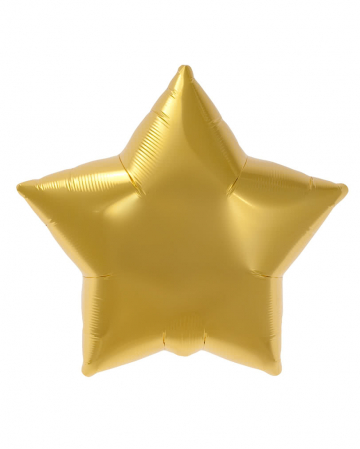 Folienballon Goldstern