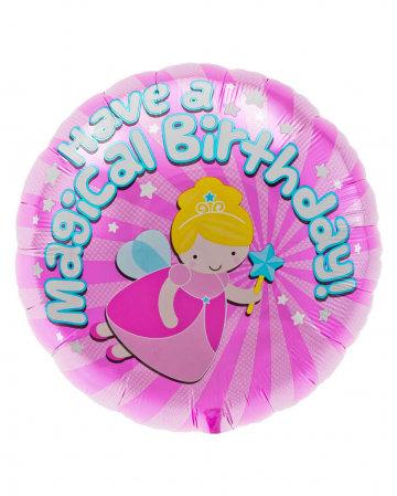 Folienballon Magical Birthday Fee