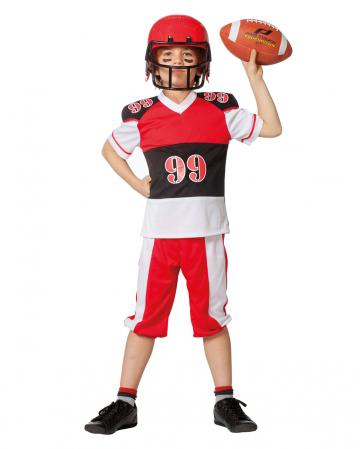 Football Spieler Kinder Kostüm