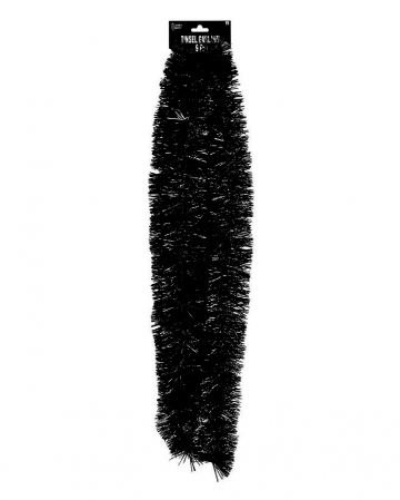 Fringe Garland Black 275 Cm