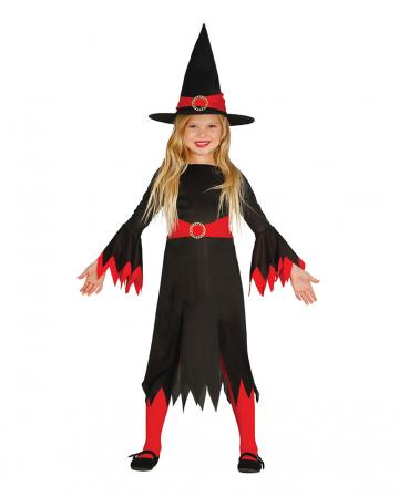 Freche Hexe Milli Kinder Kostüm