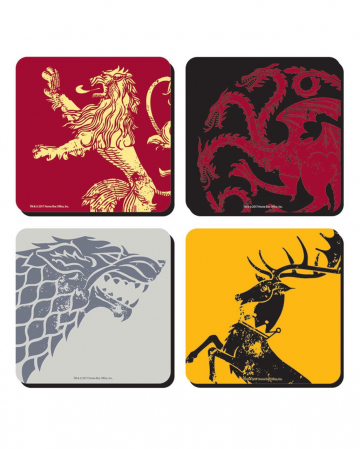 Game Of Thrones Coaster Set Of 4