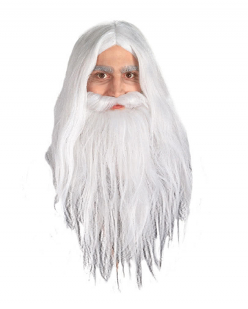 Gandalf Wig and Beard Set