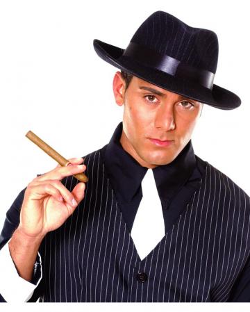 Gangster Hat Pinstripes