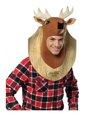 Hunting Trophy Costume For Adults