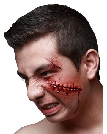 Broken wound latex wound