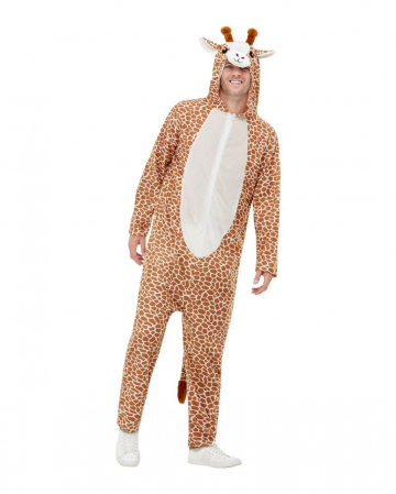 Cuddly Giraffe Jumpsuit For Adults