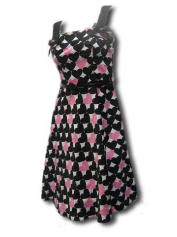 50ziger years Heart Dress
