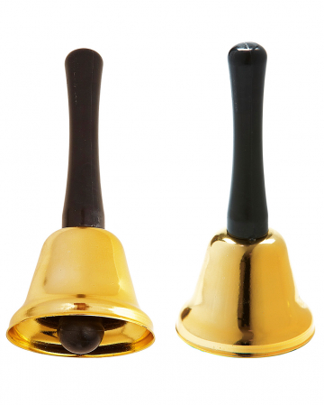 Christmas Bell Gold 12cm