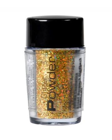 Glitterpuder Gold im Streuer