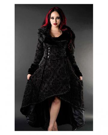 Gothic Brokat Mantel Evil Queen