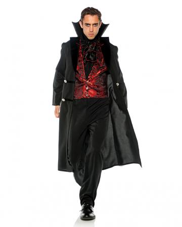 Gothic Vampire Men Costume