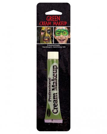Grünes Horror Make Up