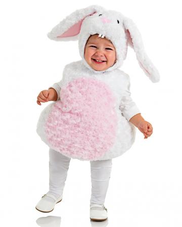 Plush bunny Toddler costume