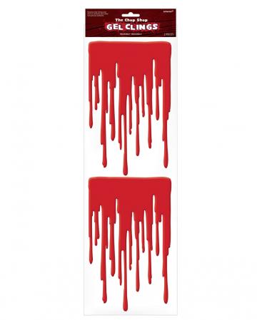 Halloween Fensterblut Sticker 2 St.