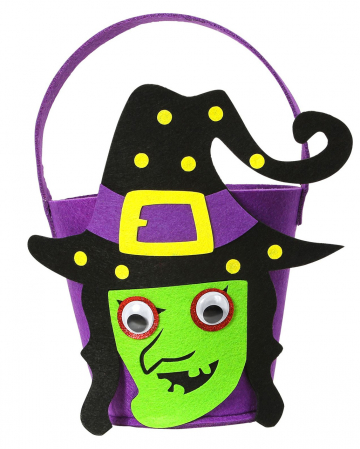Halloween Witch Basket