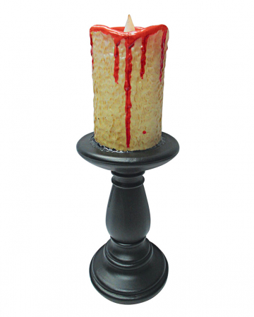 Halloween LED Kerze & Kerzenständer