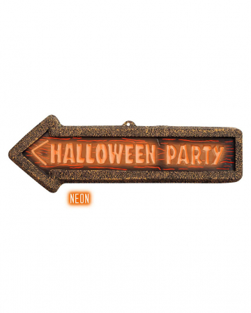 Halloween Party Sign 56 X 17 Cm