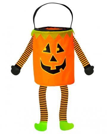 Süßigkeiten Kürbis Sammeltasche für Halloween