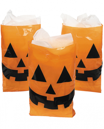 Halloween Bag Of Pumpkin