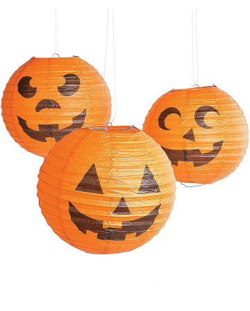 Halloween pumpkin lanterns 6 Pack