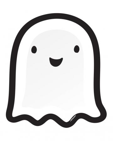 8 Geister Halloween Pappteller