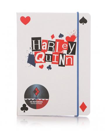 Harley Quinn Notizbuch A6