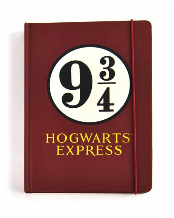 Harry Potter Track 9 3/4 Notebook A5