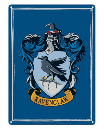 Harry Potter Ravenclaw Metal Plate DIN A5