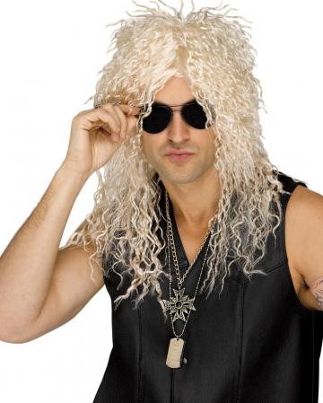 Headbanger Perücke blond
