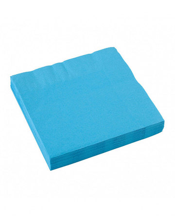 Light blue napkins 20 pcs.