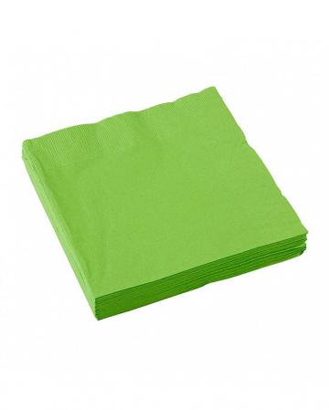 Light green napkins 20 pieces