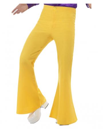 Men's trousers yellow
