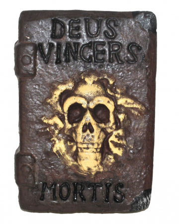 Hexenbuch mit Totenkopf