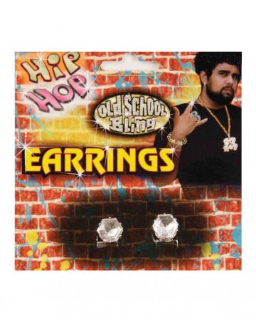 Hip Hop Rapper Diamant Ohrstecker